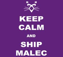 TMI - Malec : Keep calm and ship malec by Saraelle