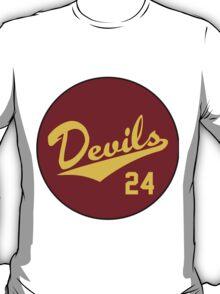 Retro Arizona State University Sun Devils Barry Bonds #24 T-Shirt