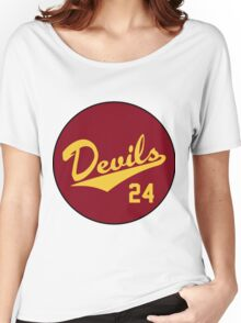 Retro Arizona State University Sun Devils Barry Bonds #24 Women's Relaxed Fit T-Shirt