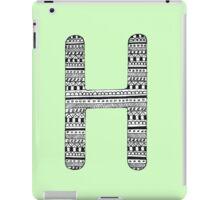 'H' Patterned Monogram iPad Case/Skin