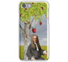 Isaac Newton Apple Tree iPhone Case/Skin