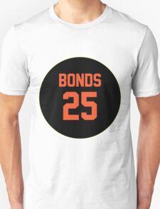 San Francisco Giants Barry Bonds #25 back T-Shirt