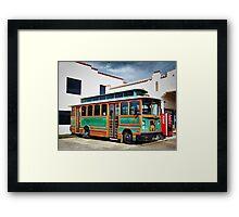 Chance Trolley Framed Print