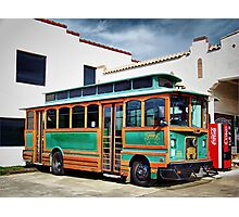 Chance Trolley Photographic Print