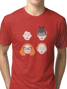 Moira,Shacath,Myrtle and Gloria Tri-blend T-Shirt