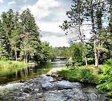 Rushing River #6 by kenspics