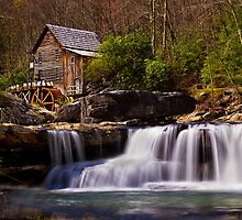 Falls At the Mill by Kathy Weaver