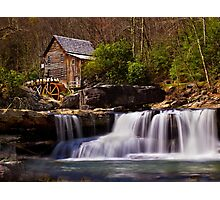 Falls At the Mill - WV Photographic Print
