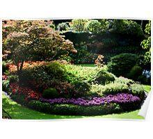Butchart Gardens 454 Poster