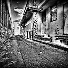 The Slums Of Taree B&W by Matthew Jones