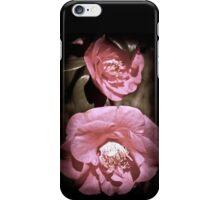 Pink vintage iPhone Case/Skin