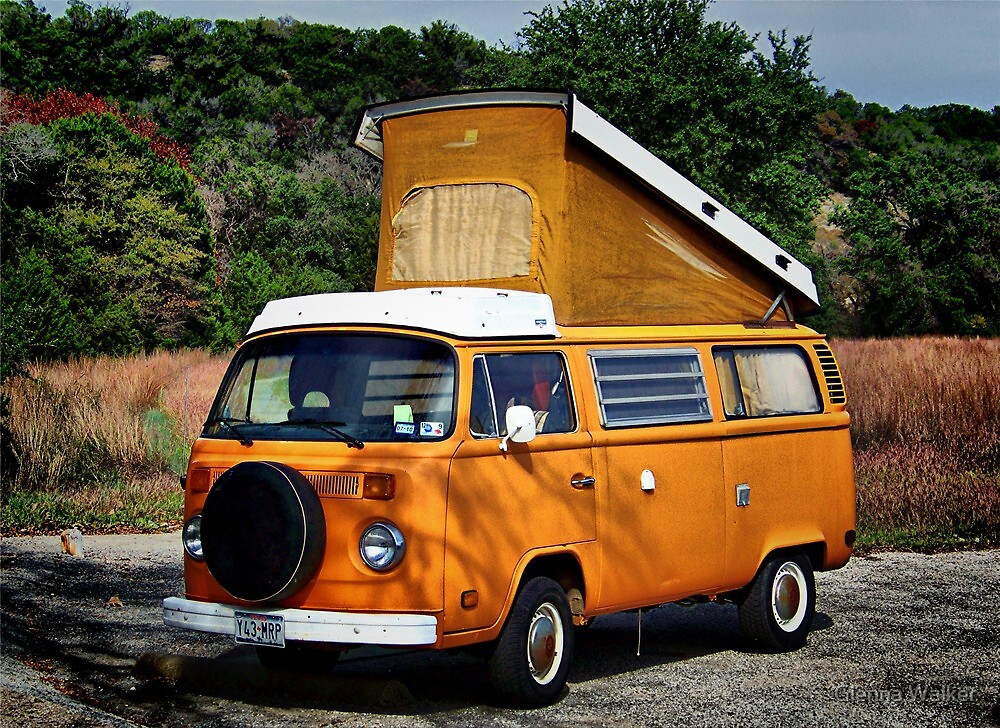 VW Westfalia by Glenna Walker