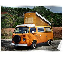 VW Westfalia Poster