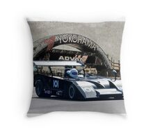 1972 Shadow Mk II Vintage Racecar Throw Pillow