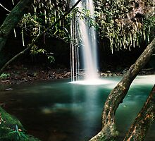 Twin Falls, Maui by Kevin Fiscus