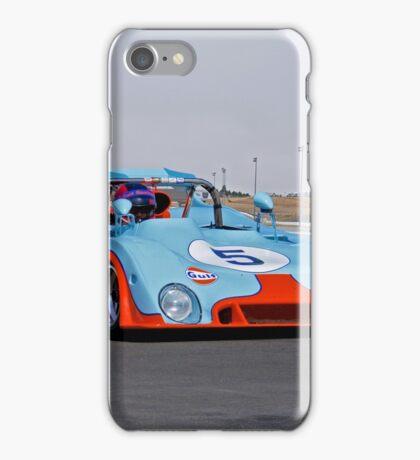 1971 Chevron B 19 Vintage Racecar iPhone Case/Skin