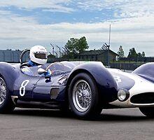 1961 Maserati T61 Vintage Racecar by DaveKoontz