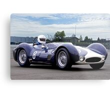 1961 Maserati T61 Vintage Racecar Metal Print