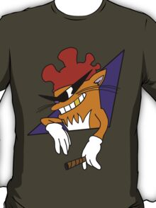 Cool Cat with the Rooster Hat! T-Shirt
