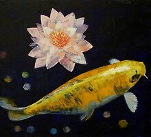 Yamabuki Ogon Koi by Michael Creese
