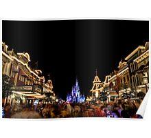 Main Street USA at Magic Kingdom Poster