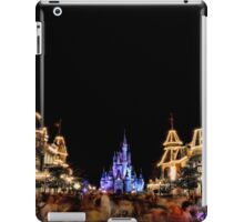 Main Street USA at Magic Kingdom iPad Case/Skin