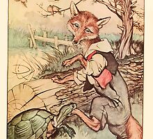Night with Uncle Remus by Joel Chandler Harris art Milo Winter 1917 0093 Fox and Turtle or Tarrypin by wetdryvac