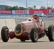 1935 Alfa Romeo 8C 35 Vintage Racecar by DaveKoontz