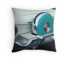 59 Ford with Continental Kit Throw Pillow