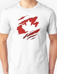 Canada Red Leaf T-Shirt