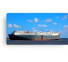 Global Carrier Canvas Print