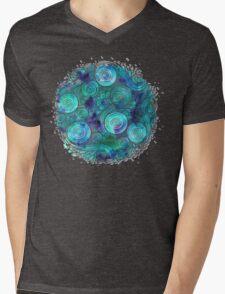 Breath of Sea Mens V-Neck T-Shirt
