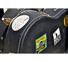 Guitar Cases Backstage Photographic Print