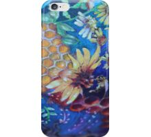 Sweet pollination Blues iPhone Case/Skin