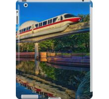 Monorail Red: Reflected at Epcot iPad Case/Skin