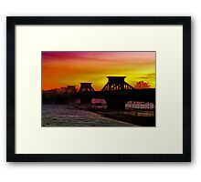 """Transition Through Contradictions"" Framed Print"