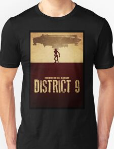 DISTRICT 9 - Minimal Silhouette Design T-Shirt