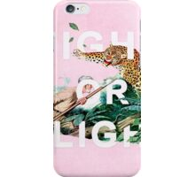 Fight or Flight iPhone Case/Skin