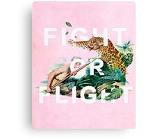 Fight or Flight Canvas Print