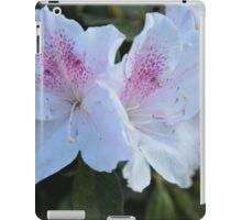WHITE AZALEA iPad Case/Skin