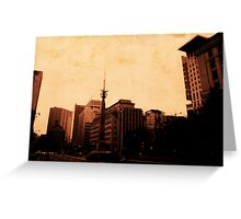 Angel over Toronto Greeting Card