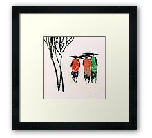 Buddies 3 Framed Print