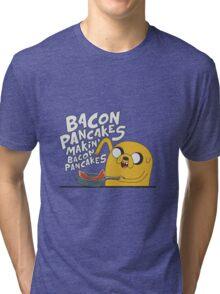 Bacon Pancakes Tri-blend T-Shirt