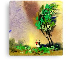 Buddies 2 Canvas Print