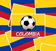 Colombia Football by piedaydesigns