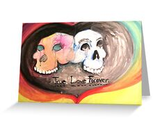 true love forever Greeting Card