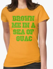 Drown Me In A Sea Of Quac Womens Fitted T-Shirt