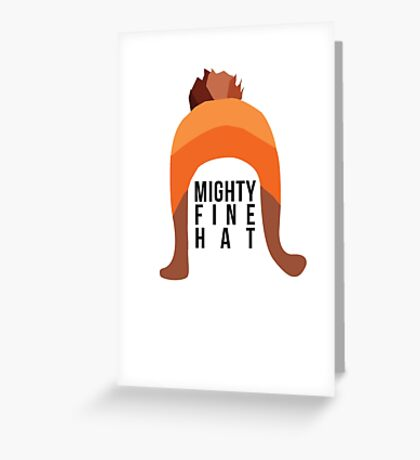 Firefly: Mighty Fine Hat Greeting Card