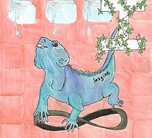 I is for Iguana by Renee Rigdon