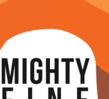 Firefly: Mighty Fine Hat Sticker